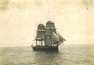 HMS Champion (1878) - Image: HMS Champion (1878) in 1880