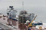 HMS Queen Elizabeth Under Construction MOD 45158467.jpg