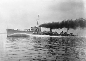 S-class destroyer (1917) - Image: HMS Tenedos (H04) IWM FL 019818