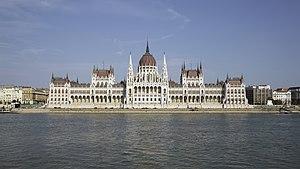 Hungarian Parliament Building - Image: HUN 2015 Budapest Hungarian Parliament (Budapest) 2015 01