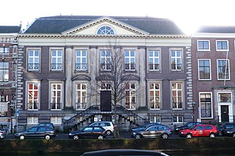 Abraham van der Hart - Huis Barnaart on the Nieuwe Gracht, Haarlem
