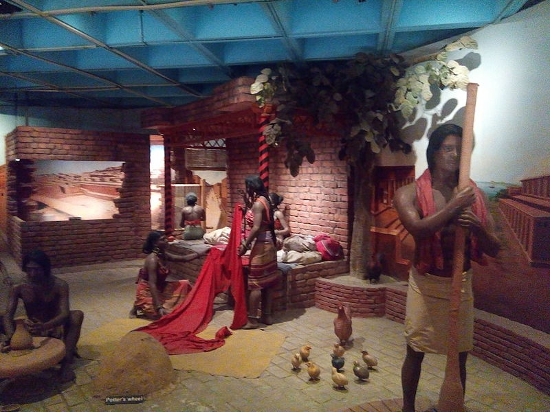 चित्र:Haddappa Sanskriti model in Science museum Delhi.jpg