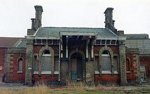 Eastern Union Railway - Hadleigh railway station