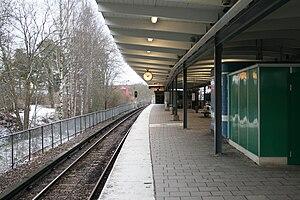 Hagsätra metro station - Image: Hagsätra