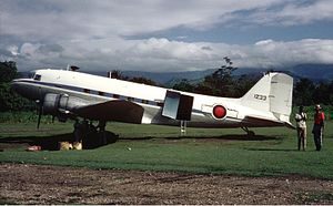 Armed Forces of Haiti - Douglas DC-3 of the Haitian Air Force in October 1969.