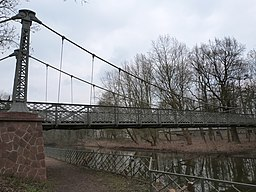 Schwanenbrücke in Halle