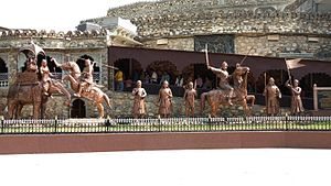 Haldighati - The Haldighati museum that has audiovisuals of Rana Pratap Singh