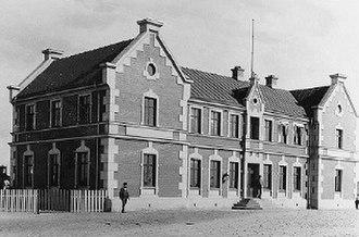 Halmstad Bolmen Railway - Halmstad Östra station