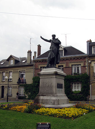 Ham, Somme - Statue of General Foy