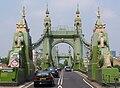 Hammersmith Bridge entrance (South).JPG