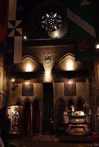 Hammond Castle - Image: Hammond castle great hall