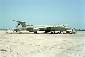 Reginald Stafford - RAF HP Victor in 1993