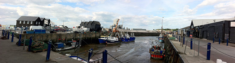 Whitstable harbour
