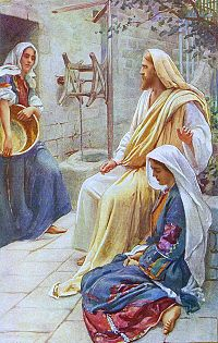 Marriage of Jesus 3 Listening women