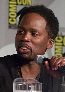 Harold Perrineau, Constantine, 2014 Comic Con (cropped).jpg