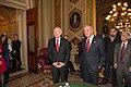 Harry Reid and Larry Ruvo in 2014.jpg