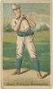 Hart, Milwaukee Team, baseball card portrait LCCN2007680721.tif