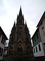 Hauptportal Evangelische Stadtkirche Tann 2013.JPG