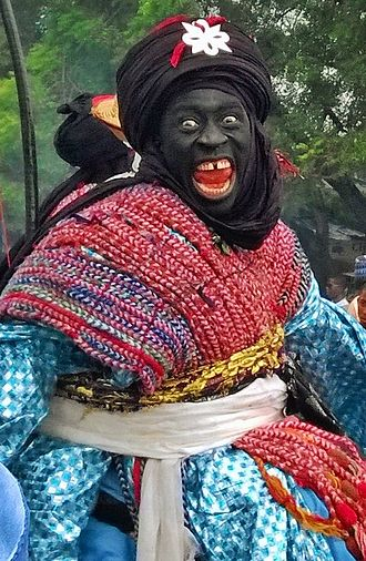 Culture of Nigeria - Image: Hausa warrior outfit for durba