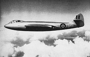 Hawker Sea Hawk - The P.1040 prototype VP401, circa 1947-1948