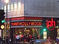 Haymarket, London - Planet Hollywood (6438890529).jpg