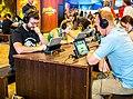 Hearthstone face at Gamescom 2015 (19808257683).jpg