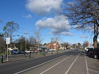 Heathcote, Victoria - Main street