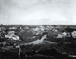 Hébertville, Quebec - Hébertville in 1906