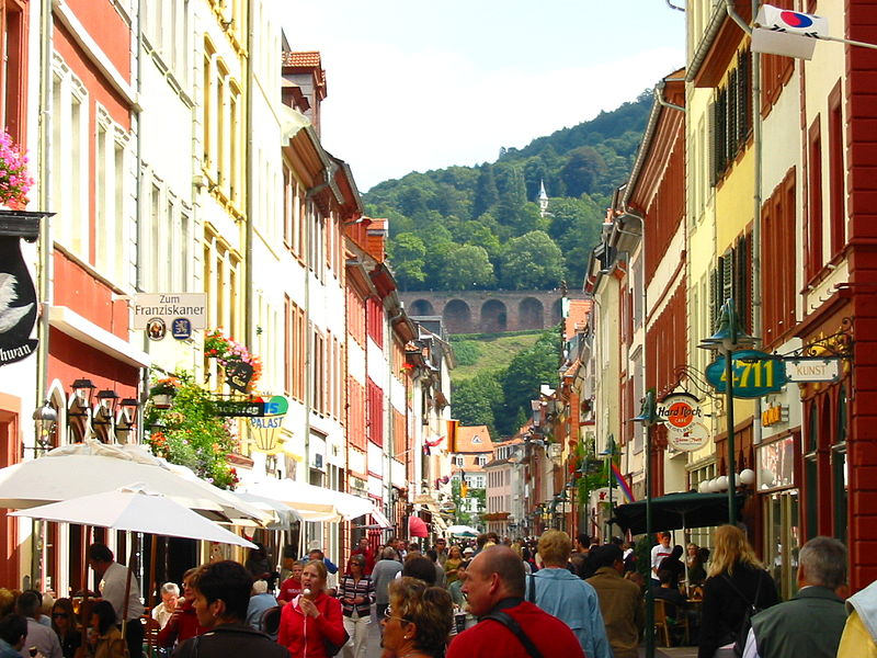 File:Heidelberg Germany 10082005 Main Street.jpg
