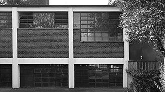 Mart Stam - Heating plant Hellerhofsiedlung