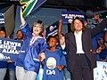 Helen Zille alongside Patricia de Lille, DA Rally.jpg