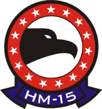Helicopter Mine Countermeasures Squadron 15 (United States Navy) emblem.png