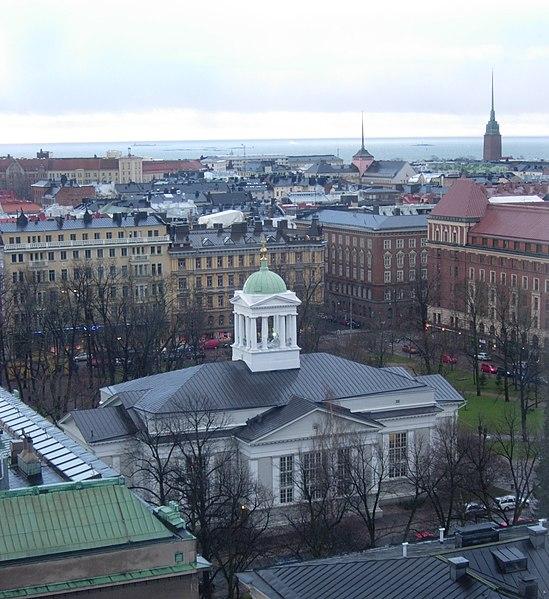 File:Helsingin Vanhakirkko ja Etelä-Helsinki.jpg