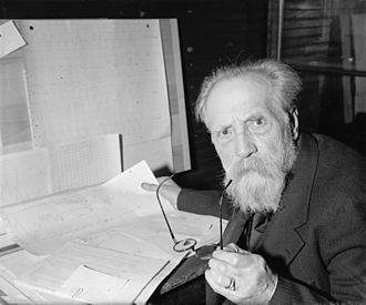 Henryk Arctowski - Arctowski in Washington, March, 1940