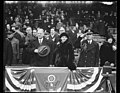 Herbert Hoover and Lou Hoover in stands LCCN2016889754.jpg