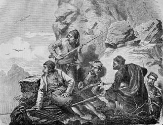 Serbs of Bosnia and Herzegovina - Herzegovinians in ambush, 1875-76