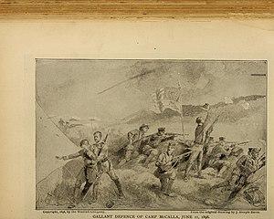 Battle of Guantánamo Bay - Gallant defense of Camp McCalla, June 11