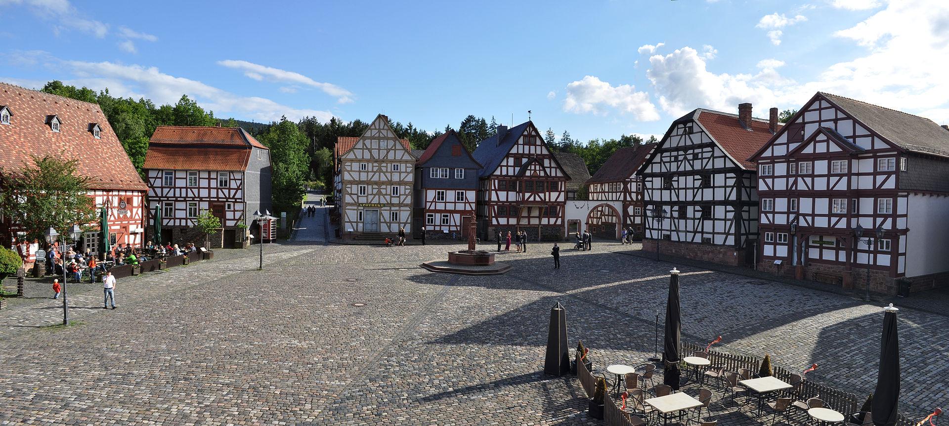 Marktplatz im Hessenpark
