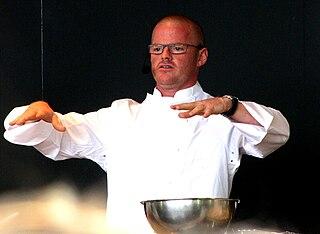Heston Blumenthal English chef