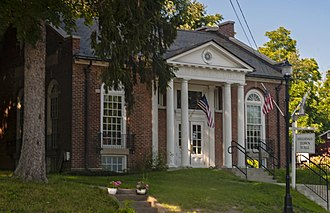 Hillsdale (town), New York - Town hall