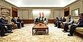 His Highness Prince Karim Aga Khan calls on the Prime Minister, Shri Narendra Modi, in New Delhi on February 21, 2018 (4).jpg