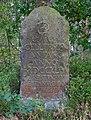 Historischer Grenzstein am Rande des Gellerser Anfangs, der sog. Georg-Rex-Stein, Nummerierung (römische I) auf dem Foto nicht zu erkennen - 24.09.2016.jpg