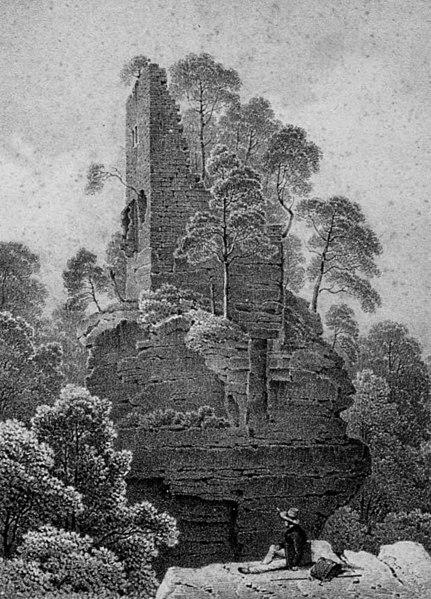 Burg Hohenfels bei Dambach (Elsass)