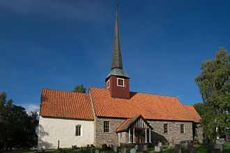 Hole, Norway - Hole Church, Buskerud