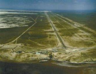 Rocket sled - The Holloman Air Force Base track