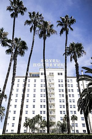 The Hollywood Roosevelt Hotel - Image: Hollywood Roosevelt Hotel 2015