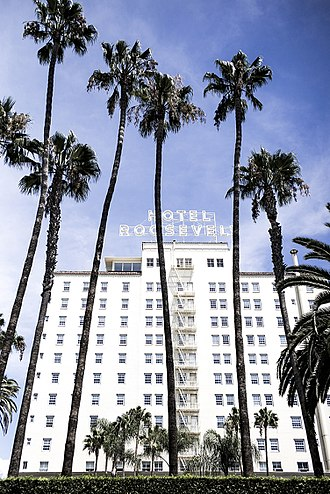 The Hollywood Roosevelt Hotel - A 2015 photo of the Hollywood Roosevelt Hotel, 2015