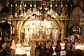 Holy Land 2016 P0602 Church of the Holy Sepulchre Altar of the Crucifixion.jpg
