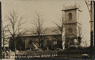 Holy Trinity Church, Kingswood - Image: Holy Trinity Church, Kingswood, Bristol 43207 29 17 019.1250x 1250