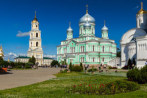 Diveyevo Convent - The five-domed katholikon is dedicated to the Holy Trinity